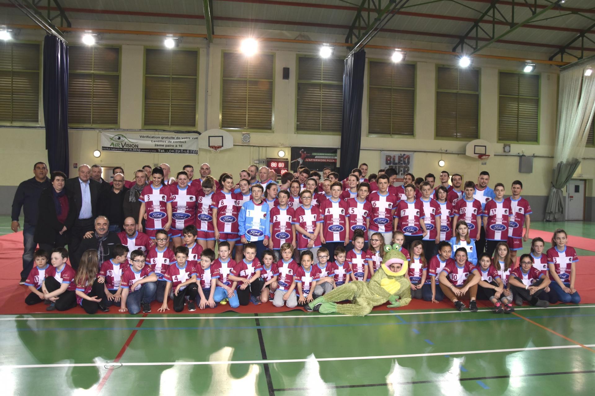 Bienvenue sur le site de l'US Albens Handball
